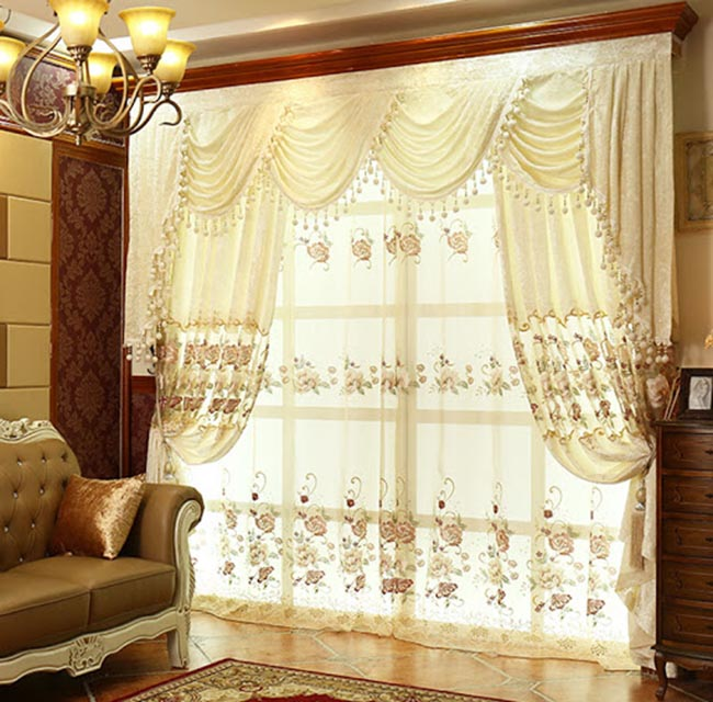 Chọn rèm vintage phù hợp về tỉ lệ chiều cao và chiều rộng khung cửa