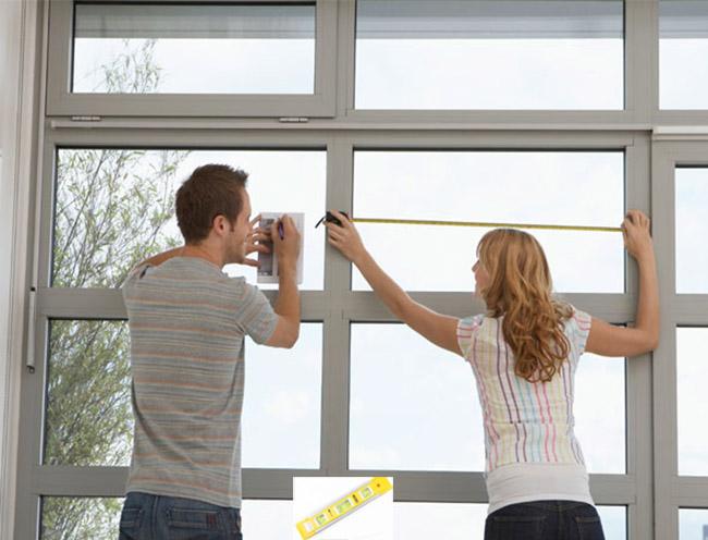 Hình ảnh: Hướng dẫn cách đo trước khi treo rèm cửa đúng kỹ thuật