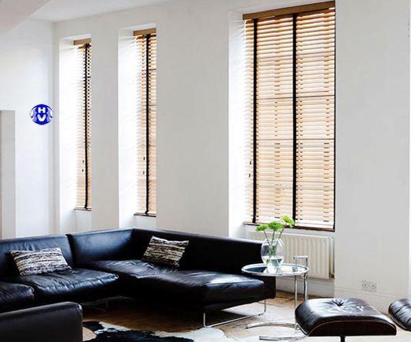Mẫu rèm cửa sổ gỗ bạch dương cao cấp nhập khẩu