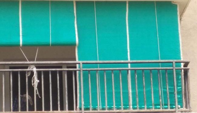 Rèm ban công đa dạng màu sắc cho bạn lựa chọn