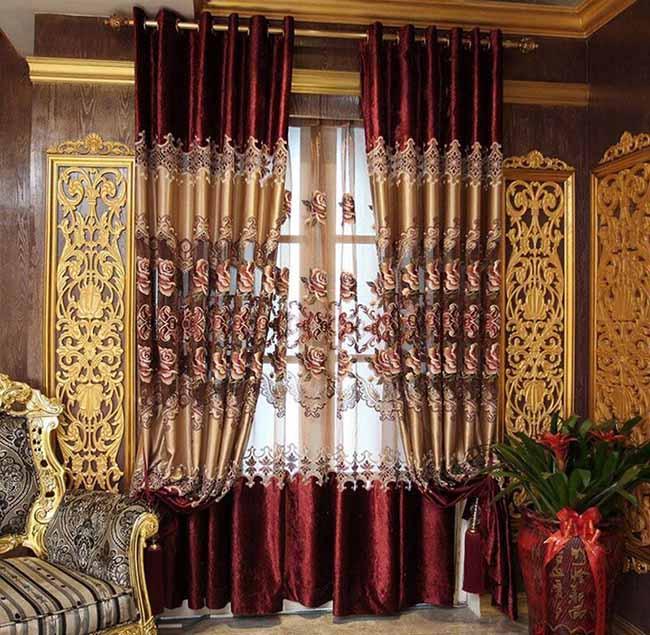 Rèm cửa vintage với nhiều chất liệu tốt bền đẹp