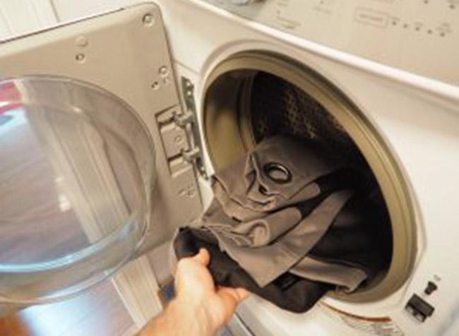 Sử dụng máy giặt rèm cửa tại nhà