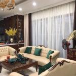 Rèm Cửa Kết Hợp Sofa Bí Quyết Tạo Nét Sang Trọng Phòng Khách