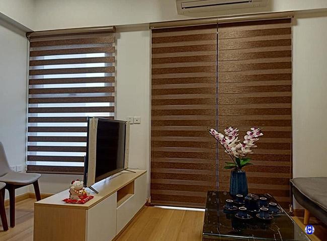 Ưu tiên những thiết kế rèm cuốn Hàn Quốc phù hợp với căn phòng