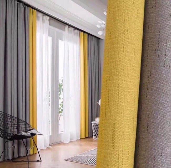 Biên rèm luôn luôn thẳng không bị vặn xoán khi treo