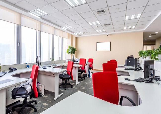 Mẫu rèm cửa sổ giúp văn phòng luôn nhận được lượng ánh sáng vừa đủ
