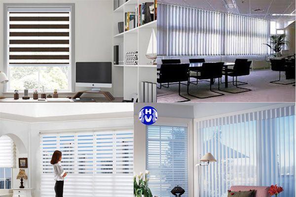 Rèm cửa sổ công sở nhiều thiết kế để lựa chọn