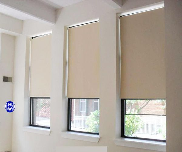 Rèm cuốn nhựa cho cửa sổ nhỏ phòng ngủ