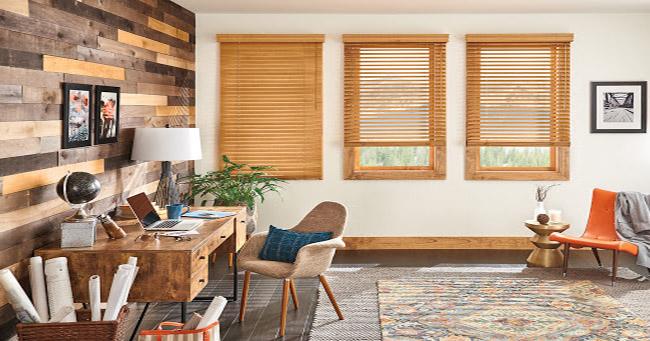 Rèm gỗ thông bền bỉ theo thời gian