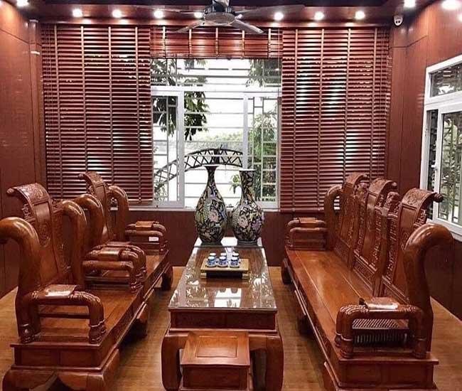 Rèm Hải Vân luôn trao tay khách hàng mẫu rèm gỗ chất lượng nhất