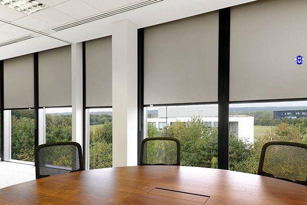 Rèm lưới cửa sổ tự động điều khiển từ xa văn phòng