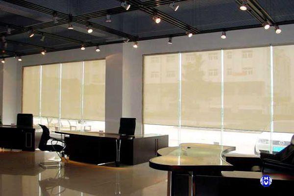 Rèm lưới cửa sổ văn phòng công ty
