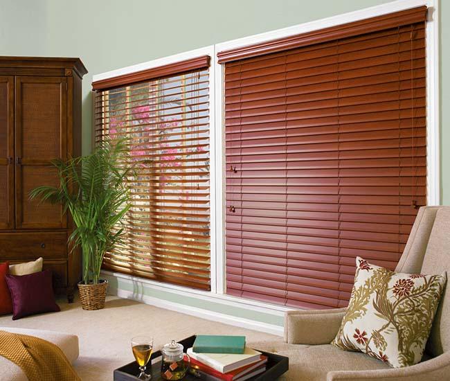 Rèm sáo gỗ như mang cả thiên nhiên vào nhà bạn