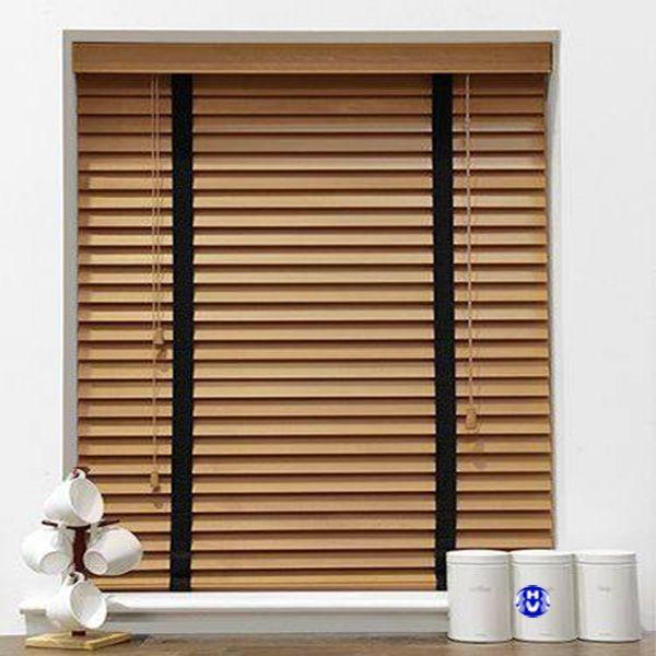 rèm gỗ bách hương màu tự nhiên bảo hành dài hạn