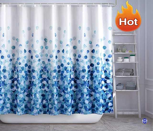 Khả năng chịu ẩm ướt của rèm nhà tắm phụ thuộc hoàn toàn vào chất liệu rèm