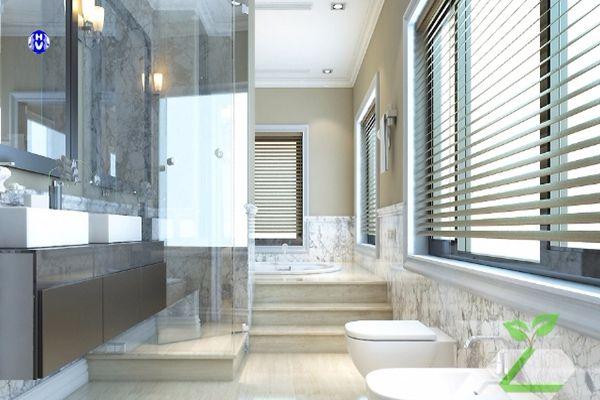 Mẫu rèm nhà tắm hiện đại cho gia đình được yêu thích
