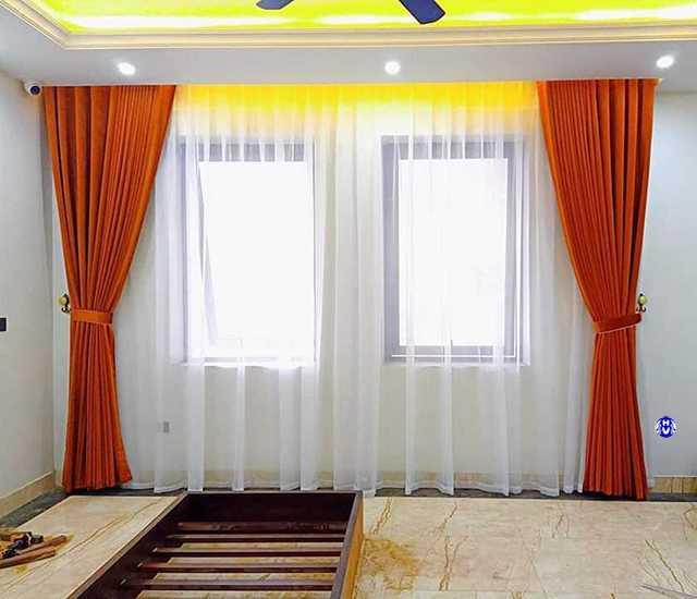 Mẫu rèm vả buông hiện đại