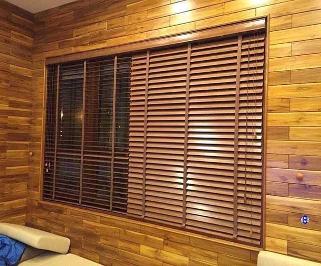 Rèm gỗ tôn tinh vẻ đẹp theo thời gian