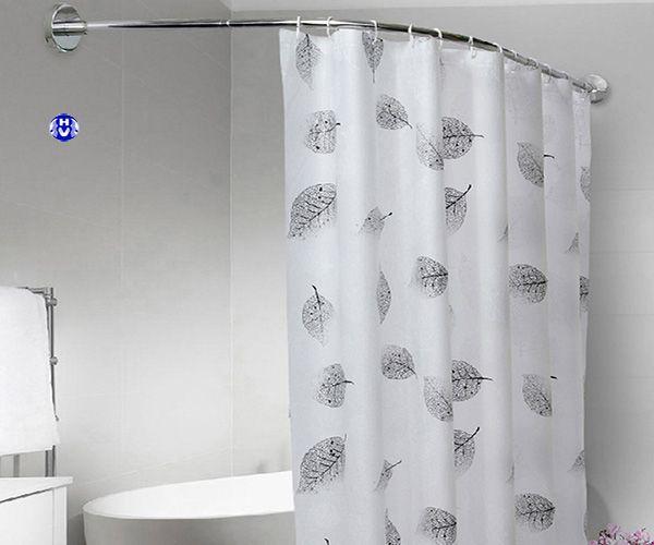 Rèm nhà tắm sử dụng móc nhựa cao cấp