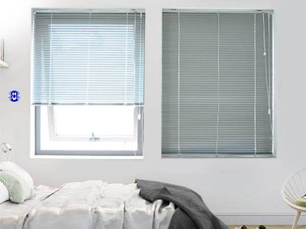Rèm sáo nhôm mang đến trẻ trung phòng ngủ