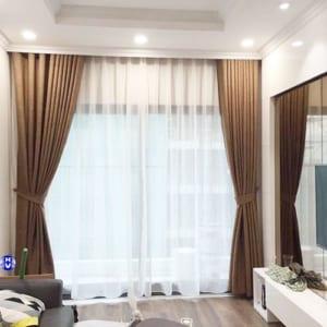 Rèm cửa phòng khách chống nắng