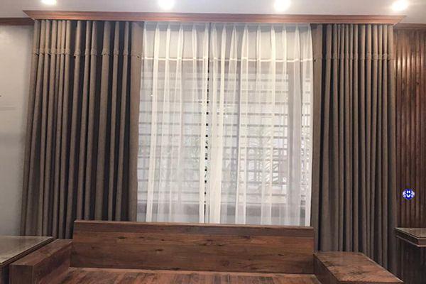 Hải Vân sở hữu nhiều mẫu rèm cửa phòng khách ấn tượng