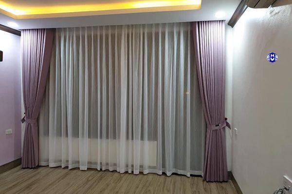 Mẫu rèm phòng ngủ cho vợ chồng mệnh Hỏa