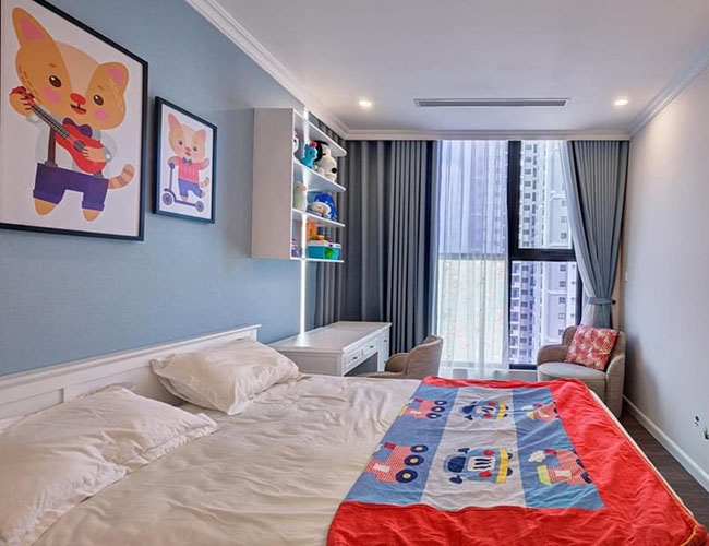 Rèm cửa phòng ngủ vợ chồng theo phong cách hiện đại