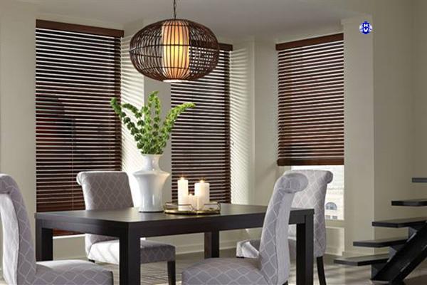 Rèm gỗ cao cấp tự nhiên từ gỗ bạch dương