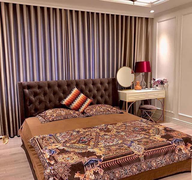 Yếu tố chuẩn phong thủy trong chọn lựa rèm cửa phòng ngủ vợ chồng