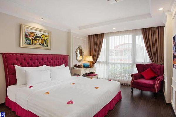 Rèm vải đẹp khách sạn cản nắng để lại dấu ấn khách hàng